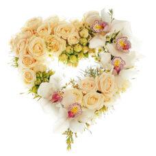 Купить в Харькове Сердце цветов