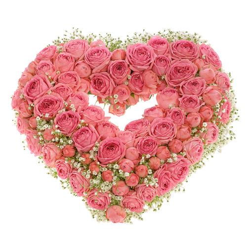 Купить в Харькове Сердце роз №35