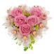 Купить в Харькове Сердце роз №30