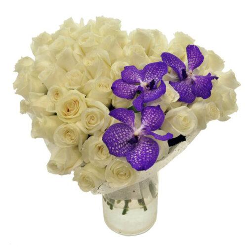 Купить в Харькове Сердце роз №20
