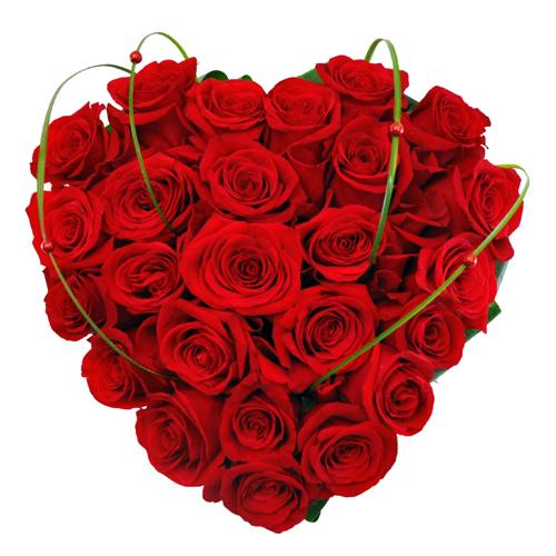Купить в Харькове Сердце Роз Валентинка
