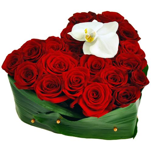 Купить в Харькове Сердце роз №25
