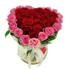 Сердце роз №15