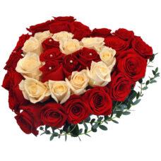 Сердце роз №10