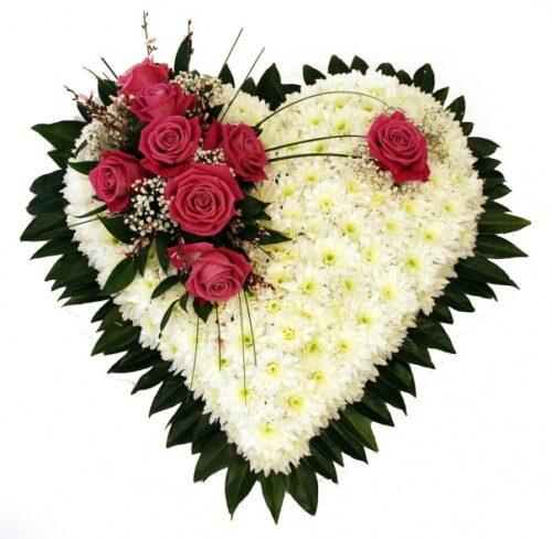 Купить в Харькове Сердце роз №63