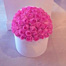 Коробка роз №82