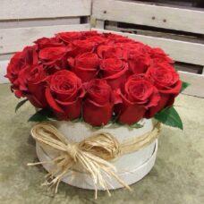 Коробка роз №84