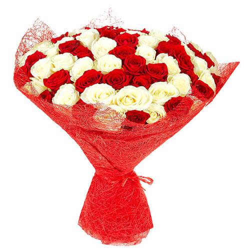 Купить в Харькове Букет роз №32