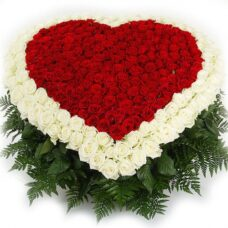 Сердце роз №45