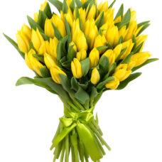 Букет Тюльпанов желтых