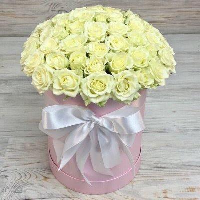 Купить в Харькове Коробка роз №91