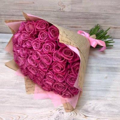 Купить в Харькове Букет роз №130