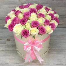 Коробка роз №101