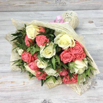 Купить в Харькове Букет роз №132