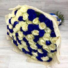 Букет роз №110