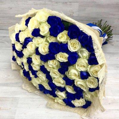 Купить в Харькове Букет роз №110