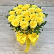 Коробка роз №112