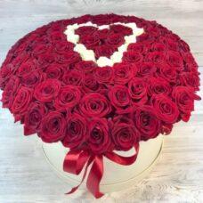 Сердце роз №114