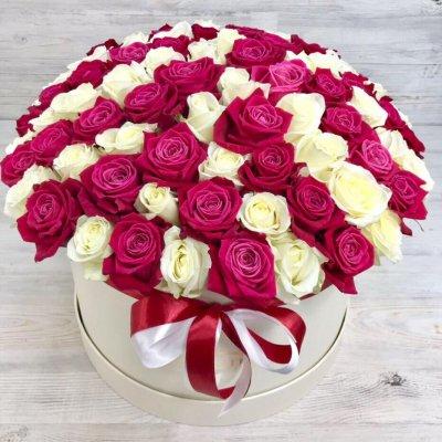Купить в Харькове Букет роз №115