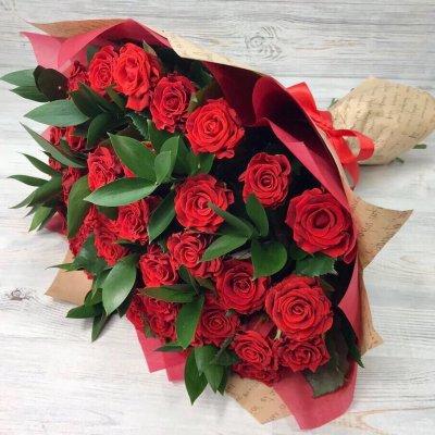 Купить в Харькове Букет роз №121