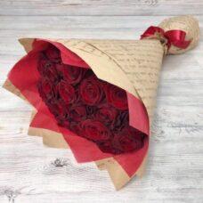 Букет роз №123