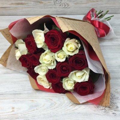 Купить в Харькове Букет роз №125