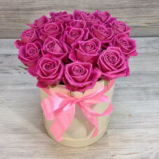 Коробка роз №127