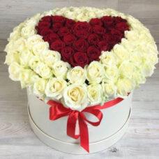 Сердце роз №95