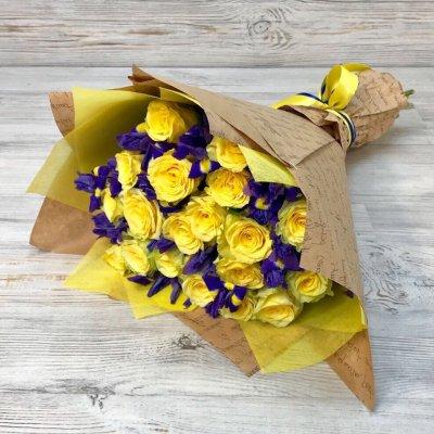 Купить в Харькове Букет роз №99