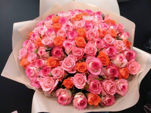 Купить в Харькове Букет роз №138